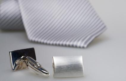 set cravate manchette